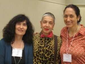 Nora Gold, Yona Zeldis McDonough, and Erika Dreifus of the Fiction Panel