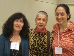 Nora Gold, Yona Zeldis McDonough, and Erika Dreifus of the Fiction Panel