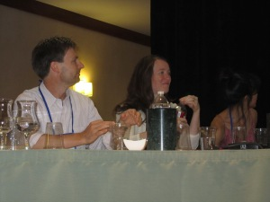 Neal Bascomb, Laurel Snyder, and Catia Chien