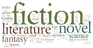 fiction-word-cloud