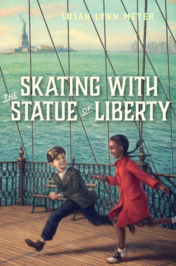 Skating Statue of Liberty CVR Sketch.indd