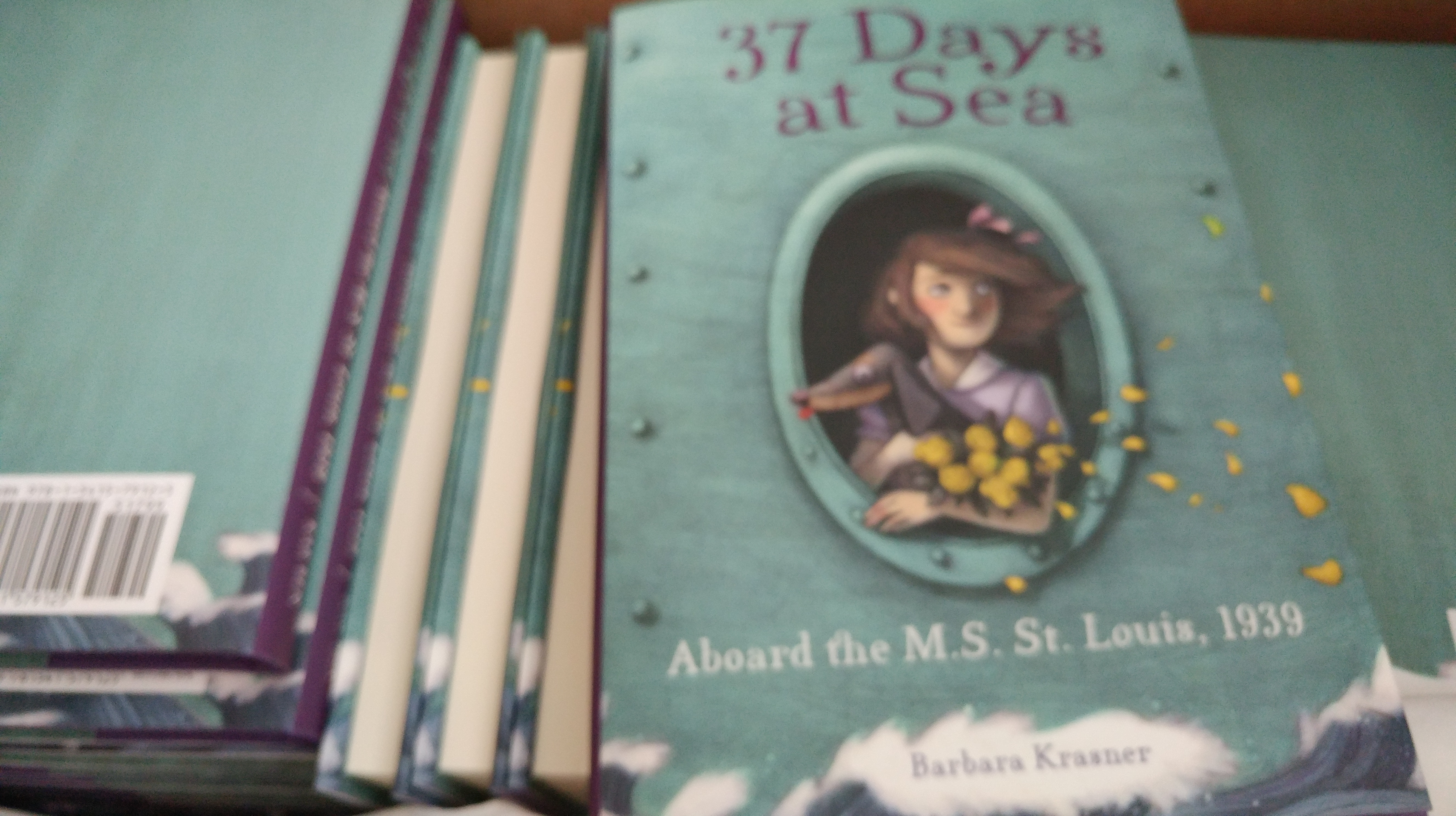 37 Days at Sea package of books